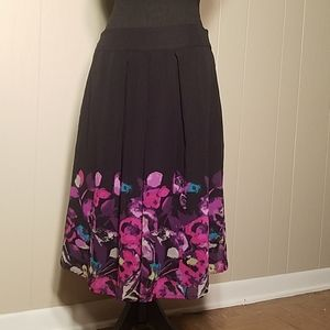 East 5th Floral Skirt